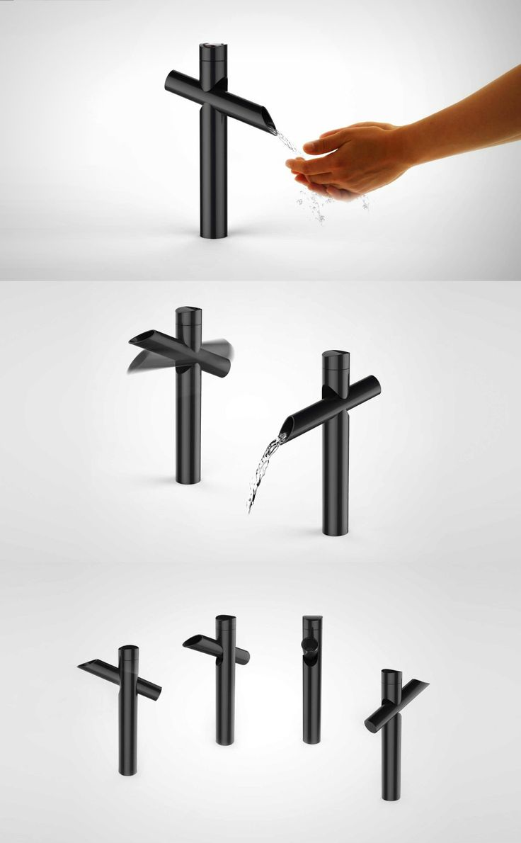 FAUCET THAT TAKES A DIP! | YANKO DESIGN