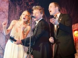 LE PRINCE WILLIAM EN DUO AVEC TAYLOR SWIFT ET JON BON JOVI • Hellocoton.fr