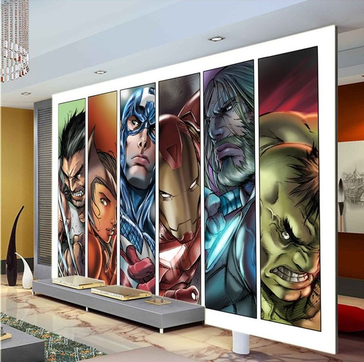 17 best ideas about avengers cartoon on pinterest all for Cartoon mural wallpaper