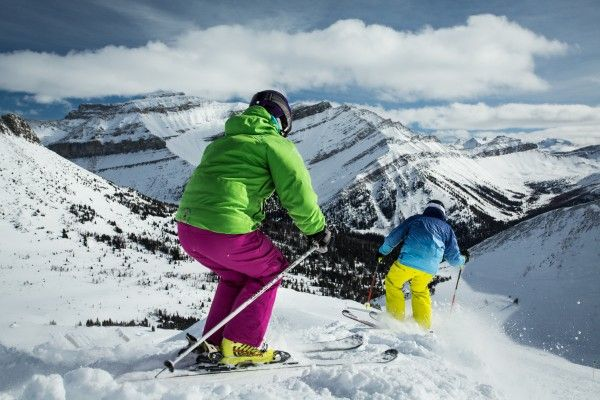 Happy Friday! Photo Credit: Banff Lake Louise Tourism/Paul Zizka #ski #snowboard #skican #banff