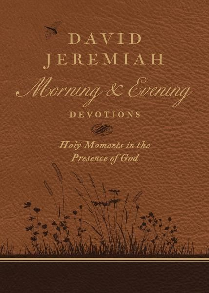 For the first time ever, Dr. David Jeremiah's wisdom and devotionals are available as a morning and evening deluxe option. David Jeremiah Morning
