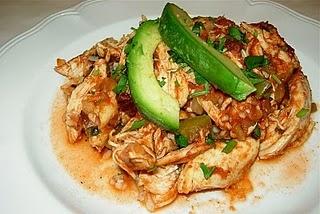 Paleo Chicken Enchilada BakeCauliflower Rice, Recipe, Paleo Chicken, Paleo Enchiladas, Food, Chicken Enchiladas Baking, Cfscc, Healthy, Cleaning Eating
