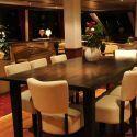 Restaurant on board the hotelships MPS Allegro.
