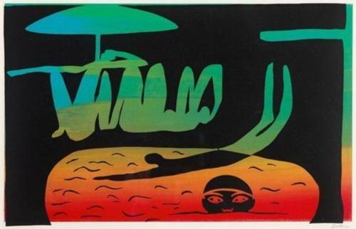Walter Battiss (1906 - 1982) | Pop Art | At the Pool