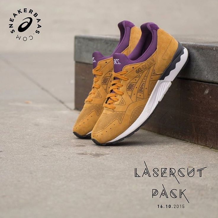 #asics #asicsgellytev #gellytev #lasercutpack #asicslasercutpack #sneakerbaas #baasbovenbaas  Asics Gel-Lyte V Lasercut Pack- The upper of this new Gel-Lyte V features high-quality suede and is equipped with technical laser-cuts for breathability and good looks of course. A ''Tan'' colorway perfectly fits this slick silhouette, get winterready with this Lasercut pack!  Releases 16.10.2015   Priced at 139.95 EU   Sizes 41-45.5 EU