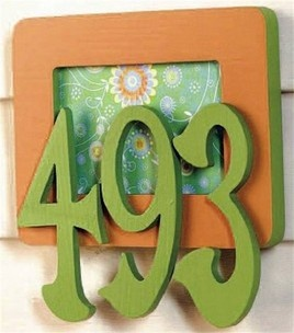 41 Best House Numbers Images On Pinterest House Numbers