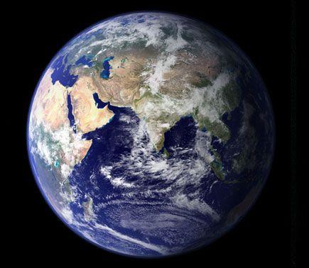 Photos de planètes du système solaire 15 superbes photos. La terre.