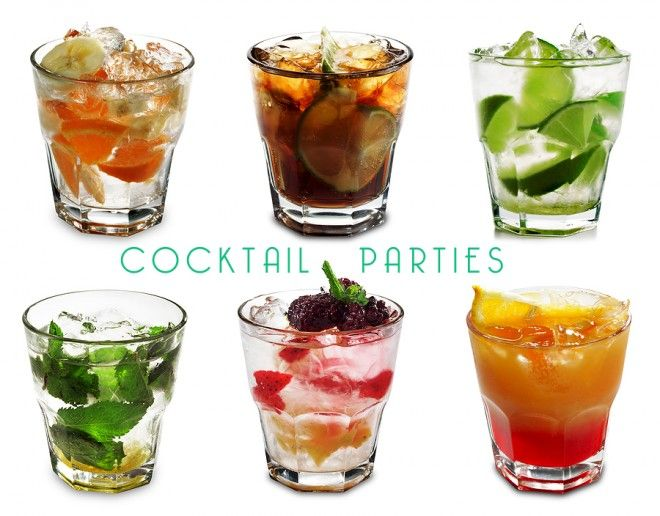 """These are awesome for a """"Girls Night In""""-cocktail parties 101"""
