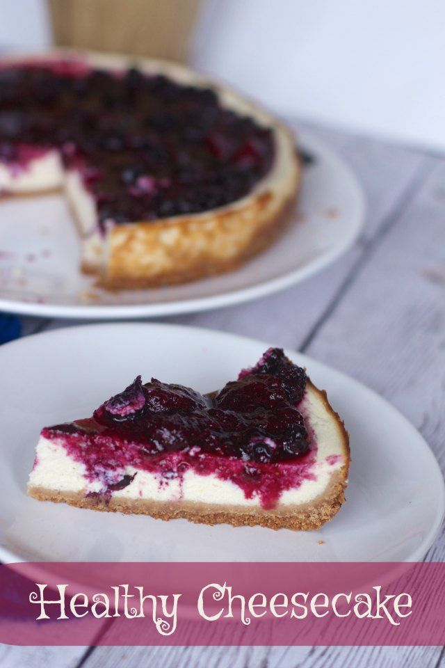 Healthy Cottage Cheese Cheesecake Recipe with mixed berry sauce is a healthy dessert option and no one will know it's not like other cheesecake desserts.
