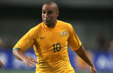 Arrchi Thompson, Australian striker who plays in national team. He alo played for Melbourne Victroy and he has played in Europe with Lierse and PSV. He signed 13 goals in Australia-American Samoa 31-0.