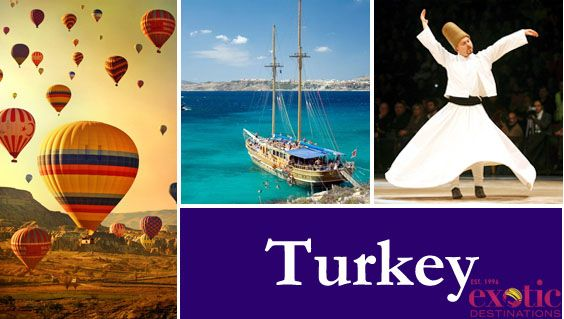 Looking for the best Luxury Tours To Turkey online but not sure where to find them? Then do not fret, as we at Exotic Destinations present to you the best of what travelling in Turkey has to offer.