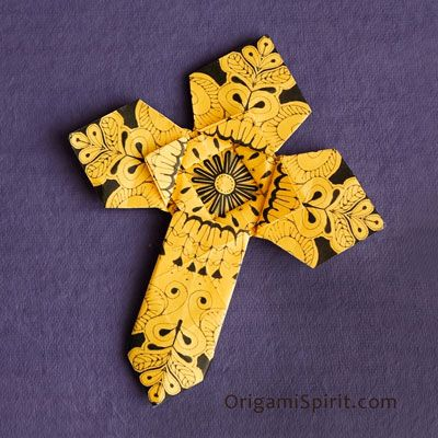 Make an Origami Cross -Version 2 post image