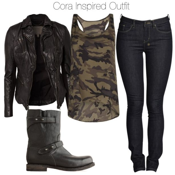 Cora (Teen Wolf) inspired outfit