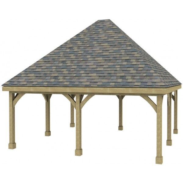 Best Carport With High Pitched Roof Double Carport Kit Hi 400 x 300
