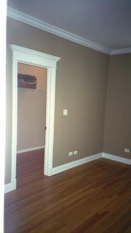 wall color w white trim BM Sherwood Tan