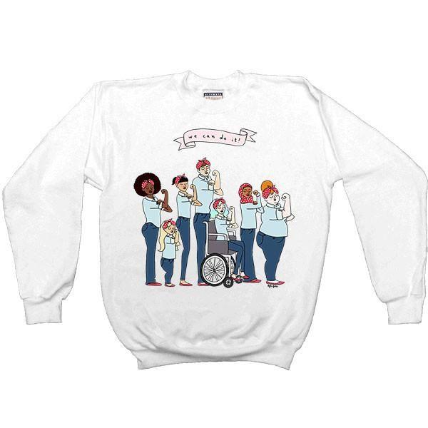 Intersectional Rosie -- Women's Sweatshirt - Feminist Apparel - 1
