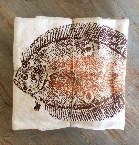 Flet farine Deluxe sac serviette lot de 2 par ReEcoShop sur Etsy