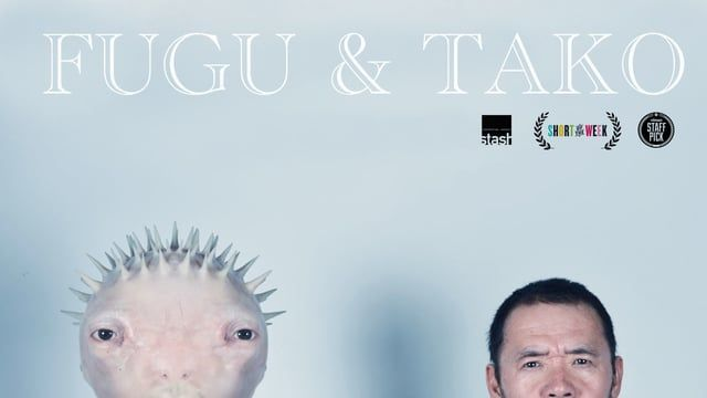 Go to www.fuguandtako.com to see the new FUGU & TAKO!  FUGU & TAKO is an amazing buddy film with stunning visual effects. The story follows two Japanese salary men's lives that literally transform when one of them eats a live puffer fish in a sushi bar.