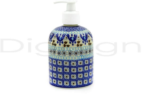 Polish Pottery Stoneware SOAP DISPENSER