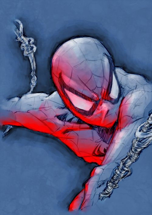 The Most Beautiful Spider-Man Ever!! by~tethered-dream