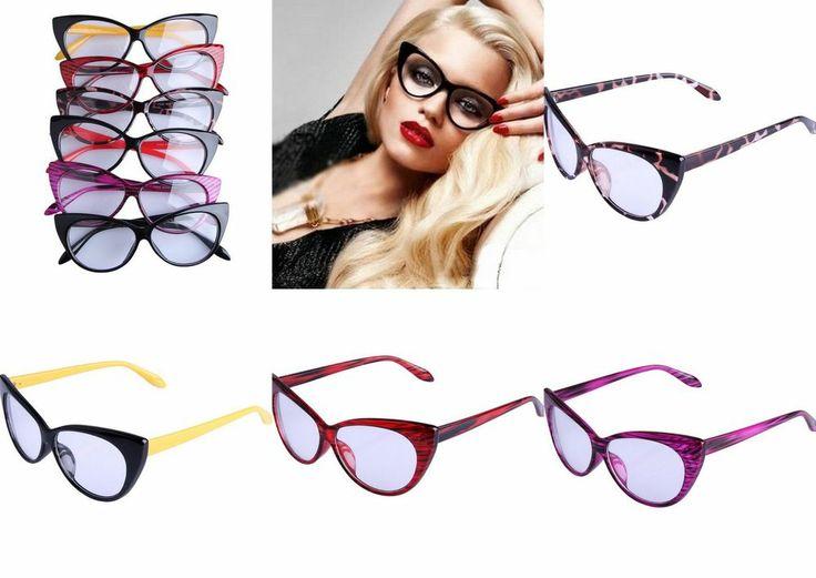 Fashion Sunglasses Womens Clear Lens Wayfarer Geek Nerd Goggles Anti-UV Glasses
