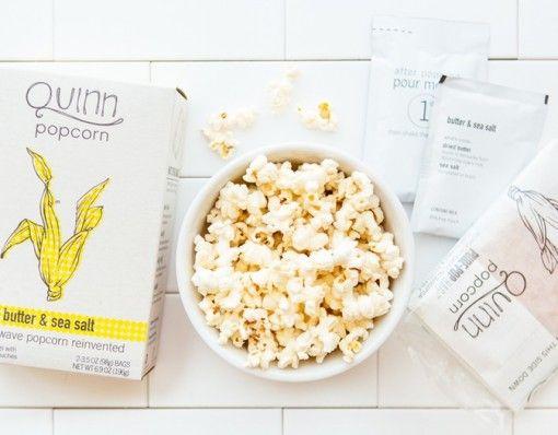Quinn Butter & Sea Salt Popcorn/ Microwave popcorn, healthy right? Wrong, till now!We know Po... http://shopfor20.com/product/butter-sea-salt-popcorn/