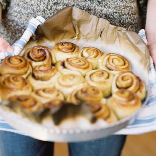sticky buns are perfect any time of day!