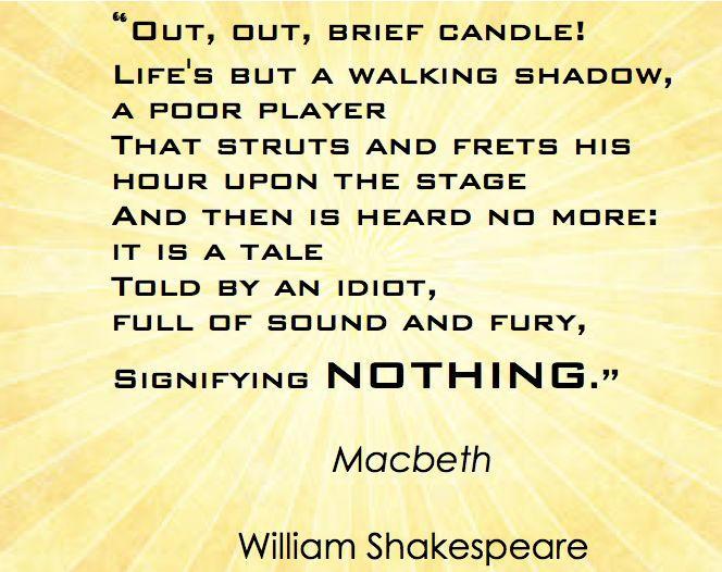 critical appreciation on macbeth Characters of shakespear's plays is an 1817 book of increased appreciation of shakespeare's genius that odds with the more typical critical theories of.