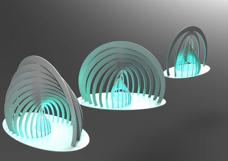 decorative lamp - CATIA,STEP / IGES - 3D CAD model - GrabCAD