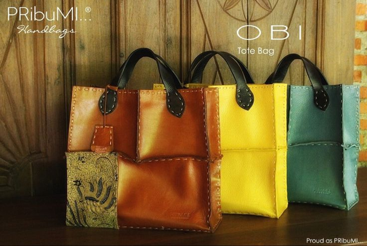 OBI Tote Bag — For more information or inquiry, please contact via :  WA : 082213355211 LINE : pribumi_id PIN BB : D0C84E0A Email : order@pribumi.co.id www.pribumi.co.id