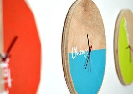 Relojes en la decoración