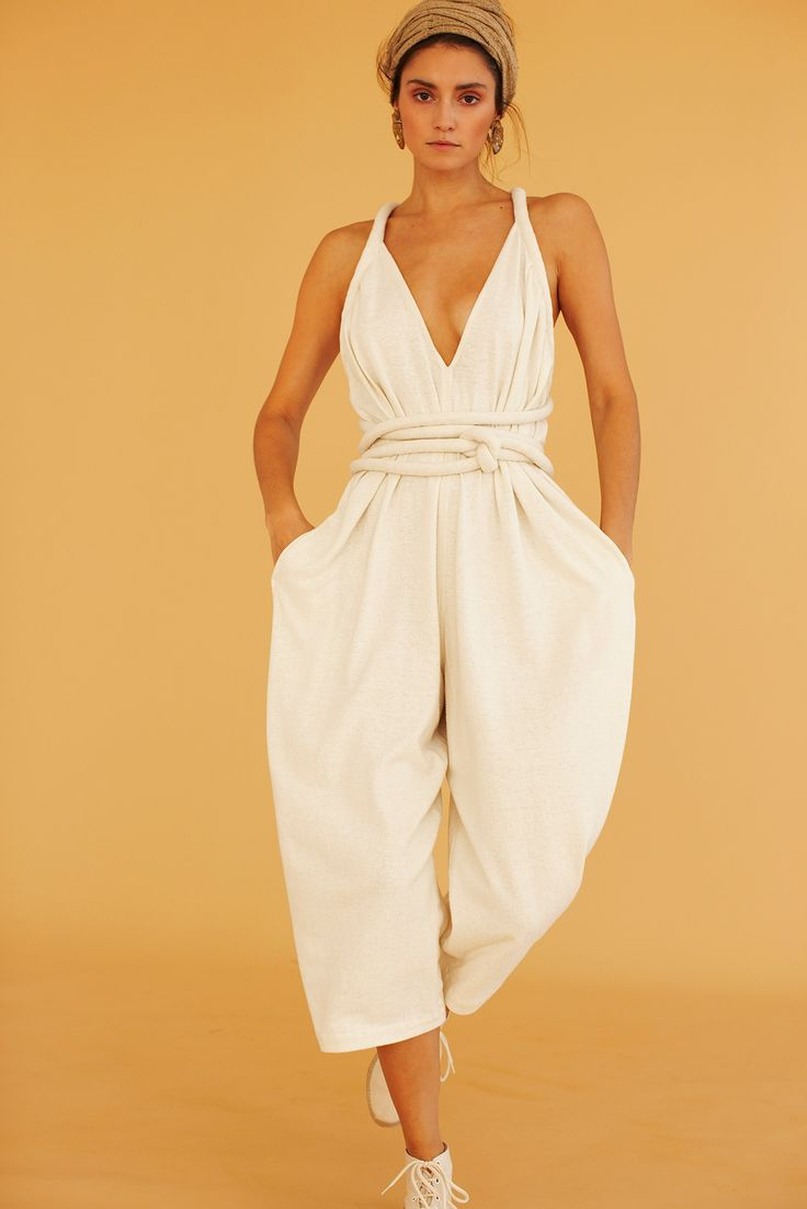 Electric Feathers Jumpsuit | Spring Summer 2015