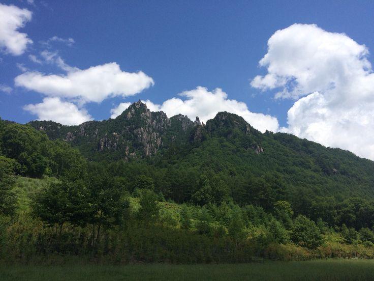 霊山、日本百名山の一つ、瑞牆山