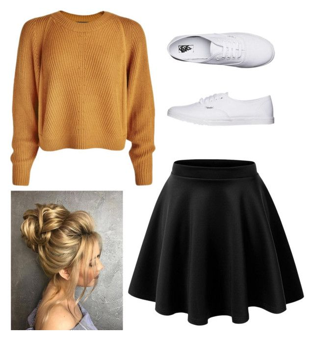 Night out in the Fall by londonkat on Polyvore featuring polyvore, fashion, style, Vans and clothing