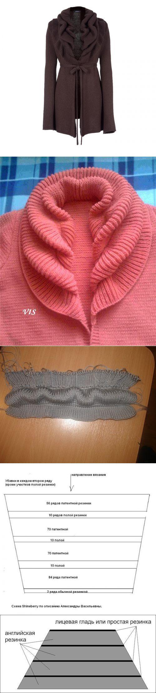 针织开衫 - 蕾妮的日志 - 网易博客 | вязание | Постила
