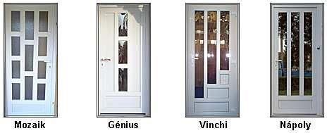 Műanyag bejárati ajtók - Nyílászáró Garázskapu forgalmazás, beépítés D-Door Dombóvár