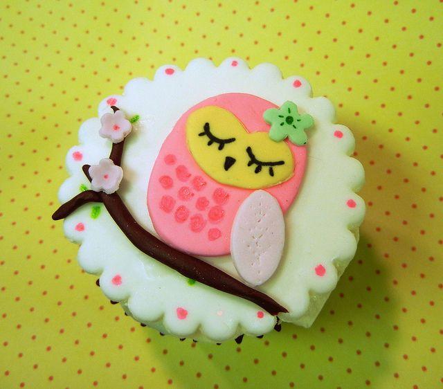 Cupcake buho