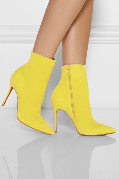 Christian Louboutin | So Kate 100 suede ankle boots | NET-A-PORTER.COM