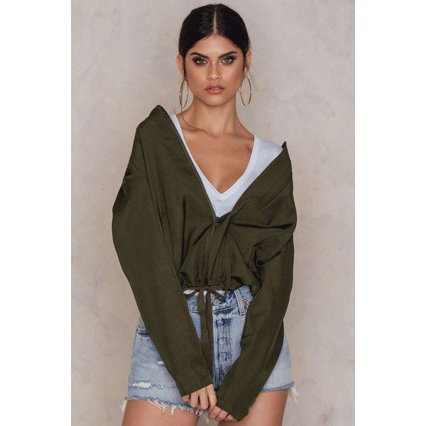 Rut&Circle Elvira emb bomber ($71) ❤ liked on Polyvore featuring outerwear, jackets, army green, floral-print bomber jackets, patterned bomber jacket, green military jackets, olive green drawstring jacket and zip jacket