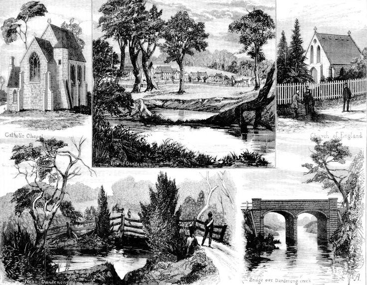 Views At And Near Dandenong (Victoria) in 1881