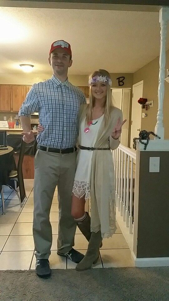 Forrest Gump and Jenny Halloween- Couples costume!                                                                                                                                                                                 More