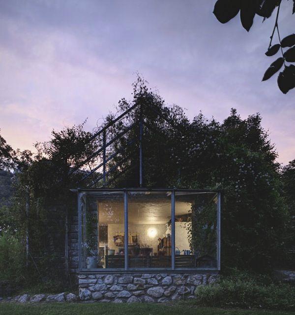 hyper-organic garden cabin