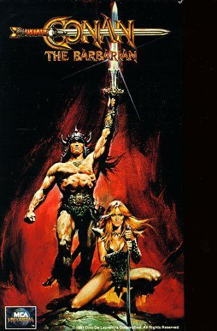 """Conan the Barbarian (1982) R - """"To crush your enemies, see them driven before you, and to hear the lamentation of their women."""""""