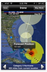 Hurricane    This Hurricane Tracker provides complete tracking with fast PUSH alerts, audio and video updates, dozens of maps, Real Time live updates & threat level maps.