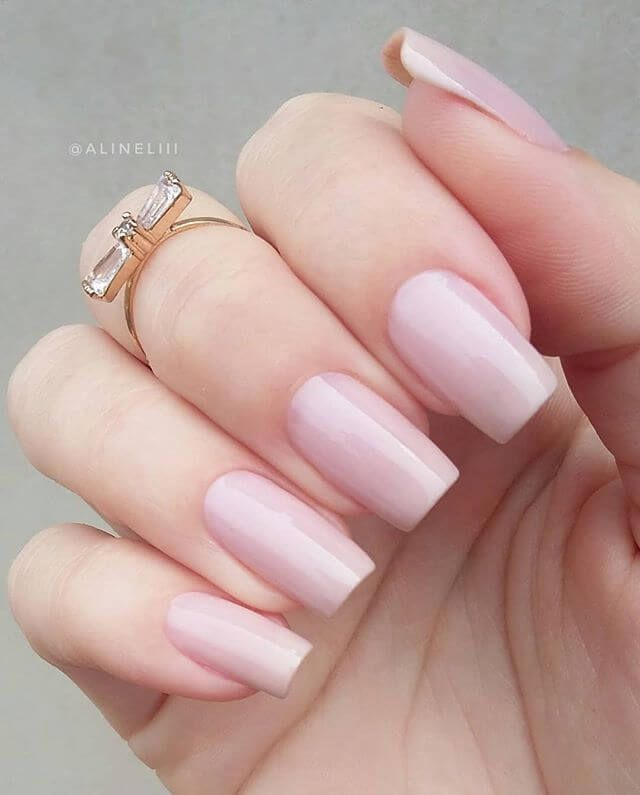 50 Must Try Natural Nail Designs For Any Season #naturalnail #naildesign #natura…