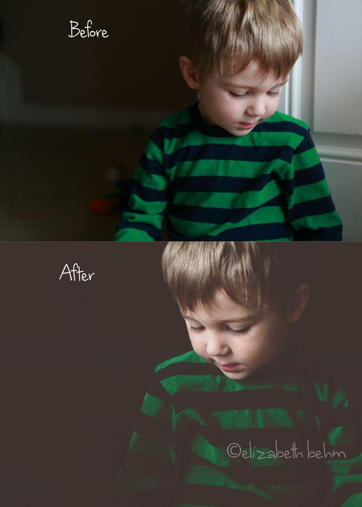 Photoshop Tipp für eine dramatische Bearbeitung. Wirklich ein toller Effekt!