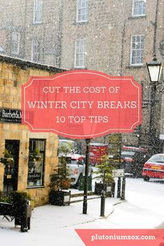 Winter city breaks | During colder months, there's nothing better than a city break to get away from the daily grind. But if you're on a budget, European cities can seem a little out of reach. Here are some easy ways to cut the costs and get away on a mini city break this winter. #citybreak #minibreak #travel #moneysaving #familytravel