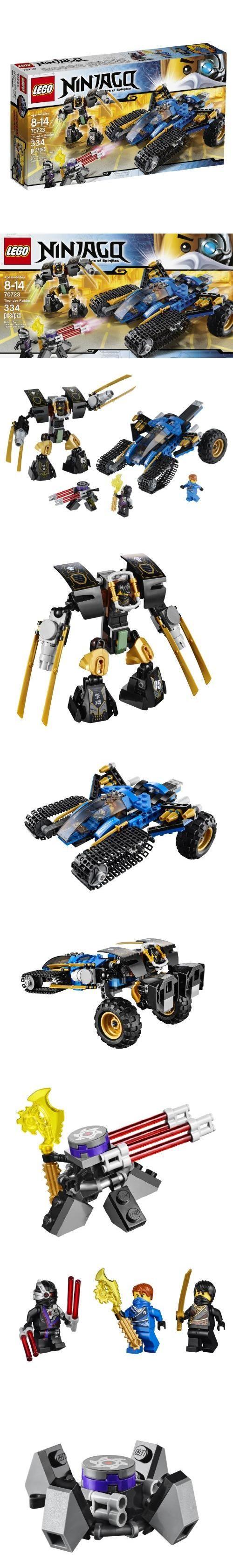 LEGO Ninjago 70723 Thunder Raider Toy, New Set for Ninjago Rebooted!, #Toys, #Building Sets