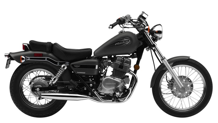 Learn to ride a motorcycle.  Honda Rebel