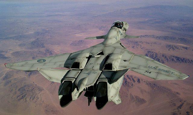 Macross VF-11 by RON5864, via Flickr